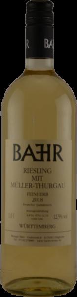RIESLING mit Müller-Thurgau feinherb 2018/2019