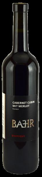 CABERNET CUBIN mit MERLOT Barrique 2017